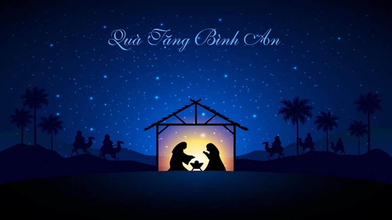 Giáng Sinh là Quà Tặng Bình An